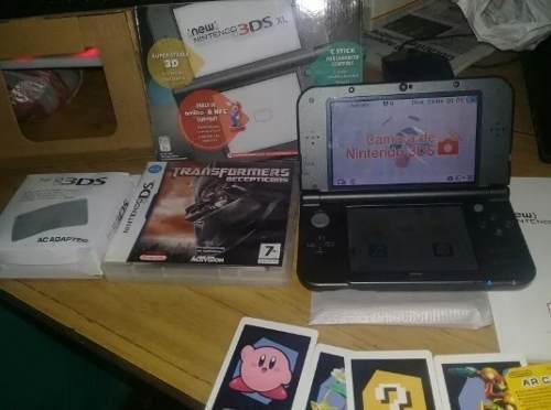 Nintendo 3ds Xl Con Accesorios Y Juego