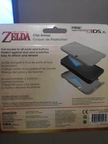 Nintendo 3ds Xl Zelda Hyrule Case Nuevo Sellado Raro Link