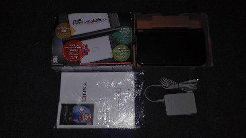 Nintendo New 3ds Xl Color Gris Rata En Caja E Instructivo