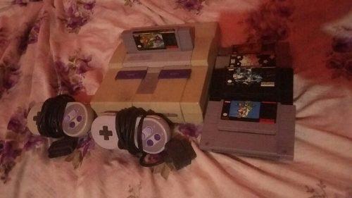 Pack Nintendo 3ds Y Super Nintendo Con 5 Juegos