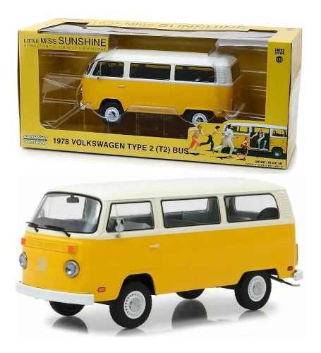 Volkswagen Type 2 Little Miss Sunshine 1:24 Greenlight