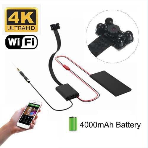 Wifi Mini 4k Cámara Inalámbrica Hd Vídeo Digital