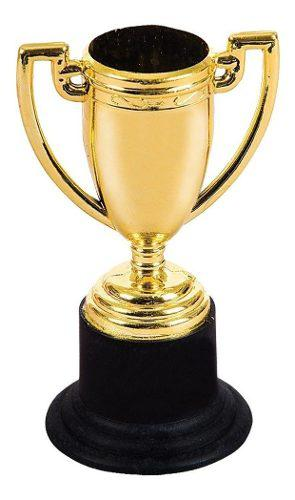 12 Copa Trofeo Estatuilla Premio Dorado Deportivo Fiesta