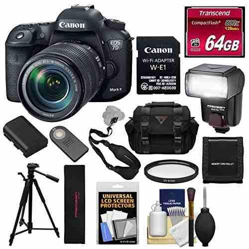 Canon Eos 7d Mark Ii Digital Slr Camera & Ef-s mm Is U
