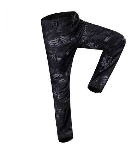 Hombres Suave A Prueba De Agua Deportes Pantalones Tácticos