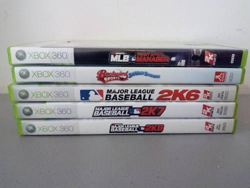Juegos De Beisbol Xbox 360 Mlb Major League Baseball