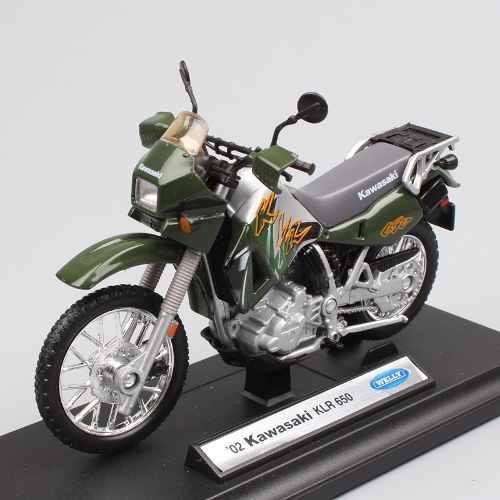 Kawasaki Klr650 1 Generacion Tengai Escala Toy Coleccion