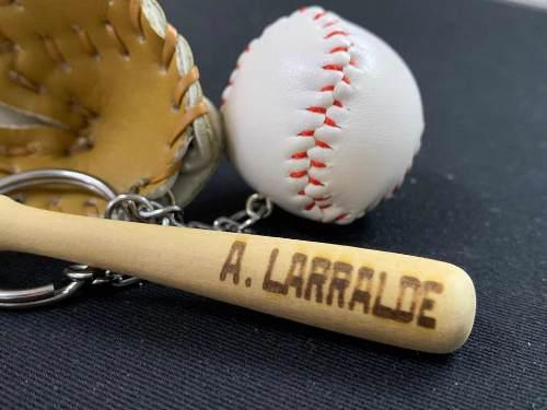 Llavero Beisbol 3 En 1 - Personalizado Gratis - Envio Gratis