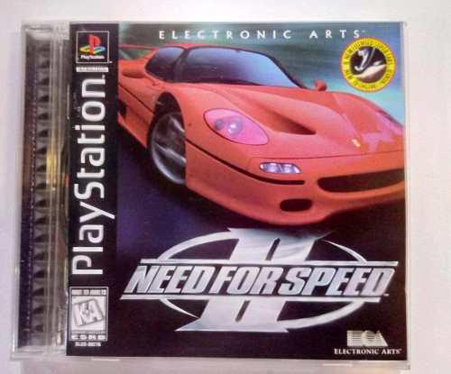Need For Speed 2 Play Station Ps1 1er Edicion Retromex Tcvg