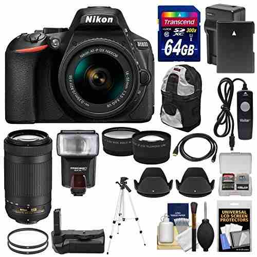 Nikon D Wi-fi Digital Slr Camera With mm Vr &