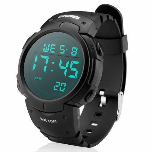 Reloj Deportivo Digital Resistente Al Agua 50m Gran Pantalla