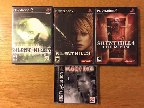 Silent Hill 1 2 3 4 Ps1 Ps2 Ps3 Playstation Lote Colección