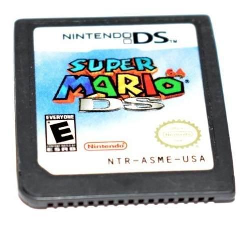 Super Mario 64 Nintendo Ds Videojuego Raro 3ds 2ds