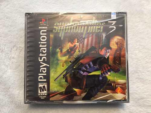 Syphon Filter 3 911 Edition Ps1 Ps2 Ps3 Playstation 1