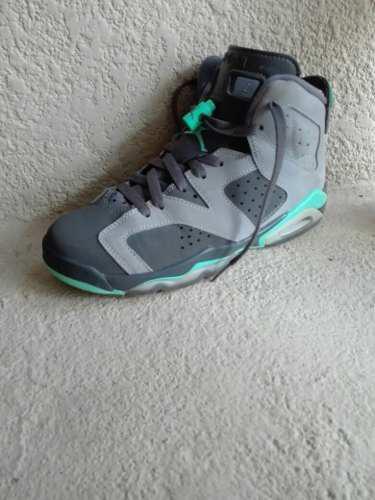 Tenis Jordan 6. Retro Gray 23.5 Cm Lebron Gs Colección
