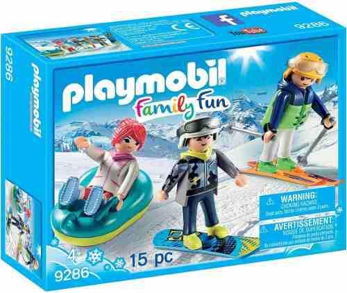 Todobloques Playmobil 9286 Deportes De Invierno !!