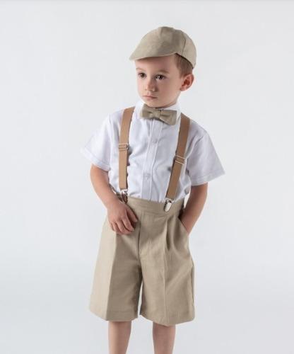 Traje De Niño Paje O Bautizo Mod. Eco - Martinelli Kids