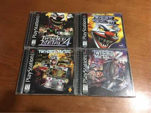 Twisted Metal 1 2 3 4 Ps1 Playstation 1 Ps2 Ps3 Lote