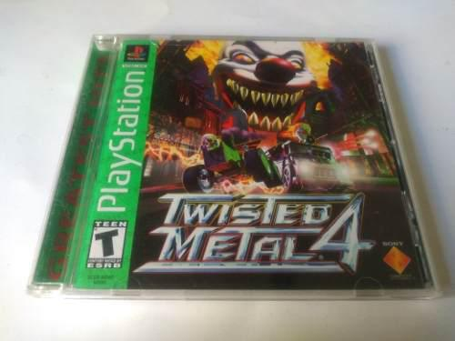 Twisted Metal 4 Ps1 Playstation
