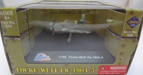 21st Century Toys Focke Wulf Fm-190a-5 1:144 German Aircraft