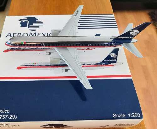 Aeromexico B757-200 De Jc Wings Escala 1:200 Muy Raro