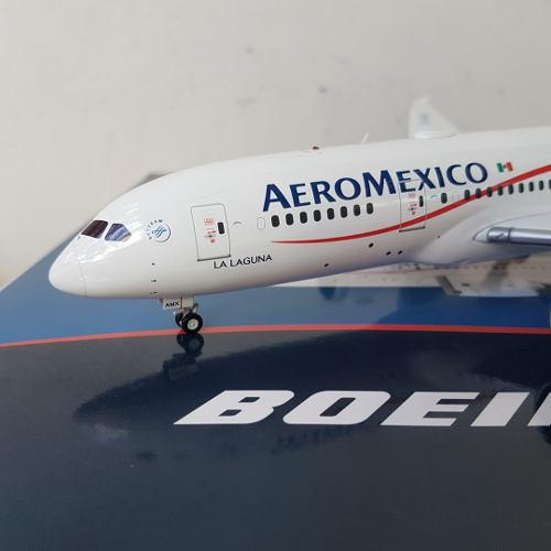 Aeromexico B787-800 Jc Wings Escala 1/200 Amx La Laguna