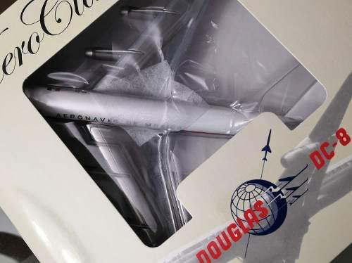 Aeronaves De Mexico-aeromexico-dc-8-10 Esc. 1/200