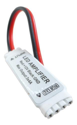 Amplificador Slim Tira Led Rgb Multicolor 12v 6a 72w