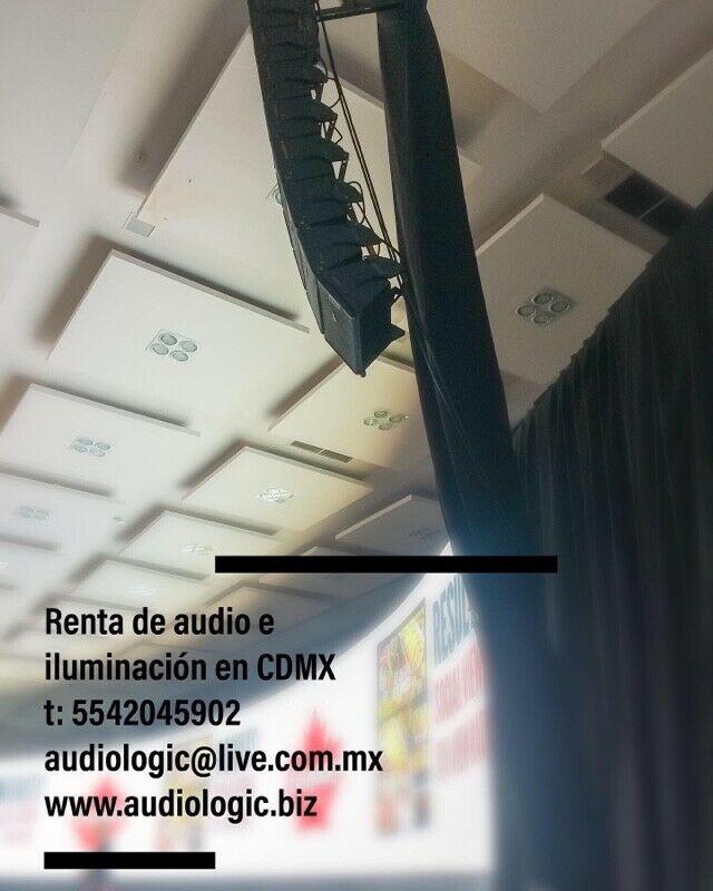 Audiologic - Renta de equipo audiovisual para eventos en