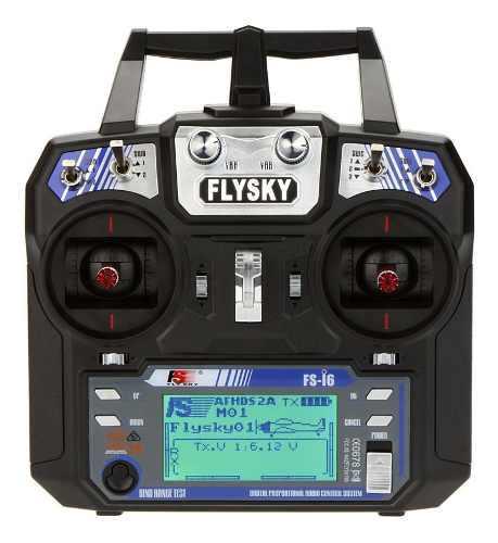 Flysky Fs-i6 Afhds 2a 2,4 Ghz 6 Canales Transmisor Sistema