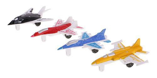 Juego De 4pcs 3d Modelos De Avión De Combate De Regalo Para