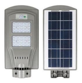 Lampara Led 40w Suburbana Con Panel Solar Y Fotocelda