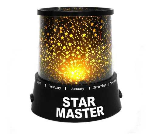 Lampara Led Colores Proyector De Estrellas Ultra Ligera /e
