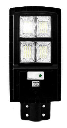 Lampara Led Solar Exterior Luz Blanca Calle 60w 6500k /e