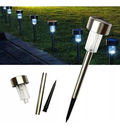Lámpara Jardín Decoración Exterior Led Solar Resistente