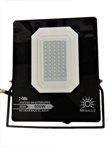 Reflector Led 50w Potente Iluminación Ultra Delgado Slim
