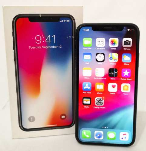 Telefonos Celulares Apple iPhone X 64gb Negro Liberado (m)