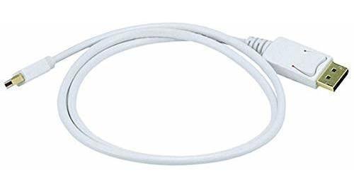 3ft 32awg Mini Displayport A Displayport Cable color