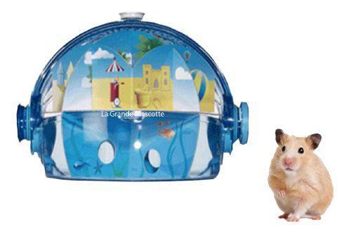 Jaula Casa Para Hamster Habitrail Ovo Maze Azul