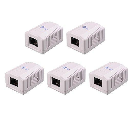 Lista Ul Materias De Cable Paquete De 5 Caja De Montaje E