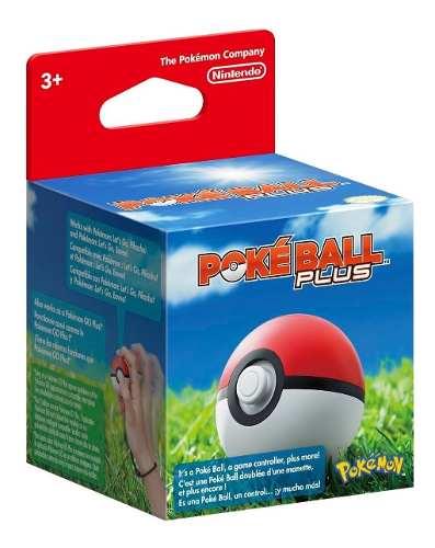 ..:: Pokeball Pokebola Plus Pokemon Lets Go Pikachu::..