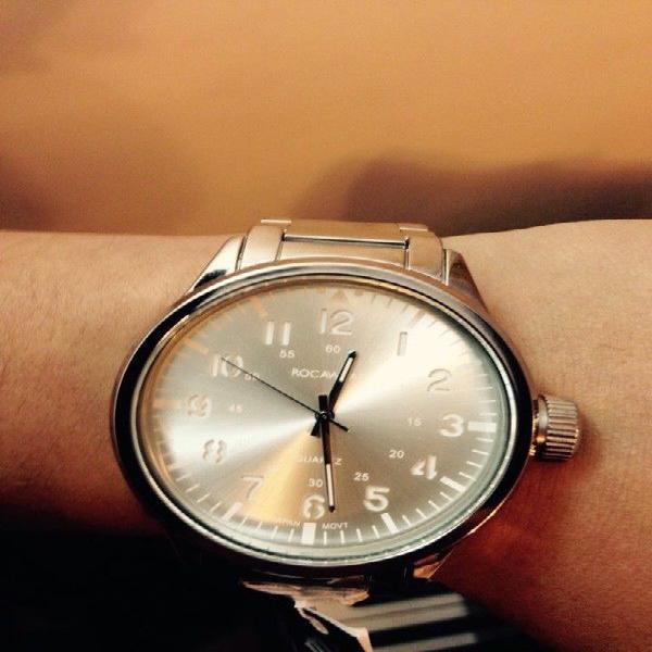Reloj Japones Nuevo de Acero Rocawear