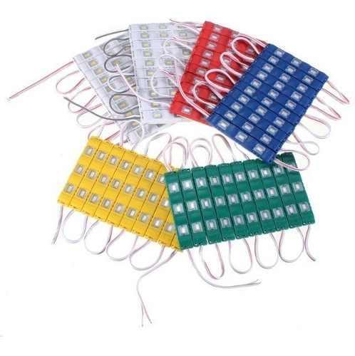 Serie 20 Modulos De 3 Leds Mod 5730 92lm Cu 5 Colores