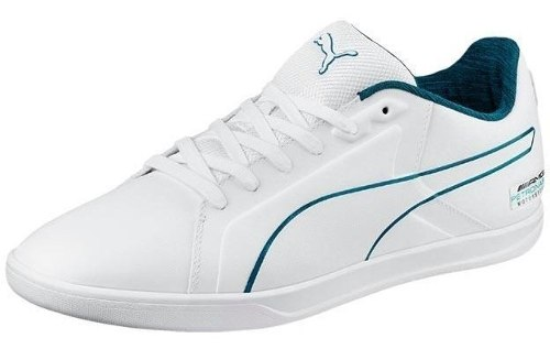 Tenis Puma Mercedes Benz Court Blanco  Look Trendy