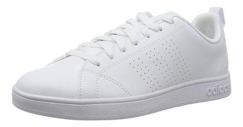 Tenis adidas Advantage Clean Blanco 100% Originales Hombre