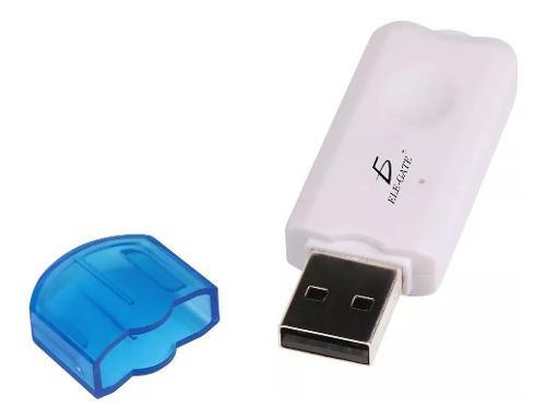 Usb Receptor Bluetooth Transmisor Musica Auto Coche Ele-gate