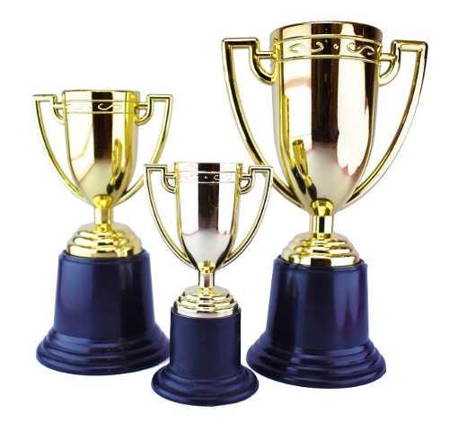 3 Copa Trofeo Premio Estatuilla Dorada Fiesta Cars Fiesta