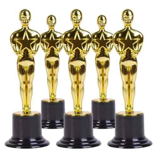 55 Estatuilla Premio Oscar 15cm Hollywood Trofeo Batucada