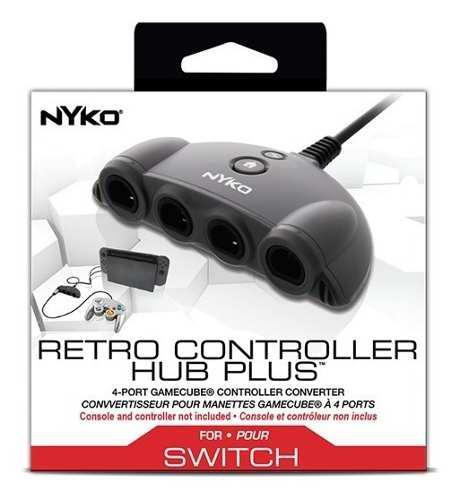 Adaptador Plus De Controles Gamecube A Nintendo Switch Nyko
