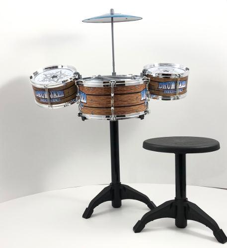 Bateria De Juguete Jazz Drum Niño Y Niña Linea Infantil